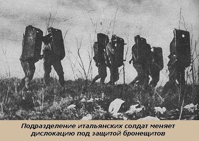 Солдаты со щитами