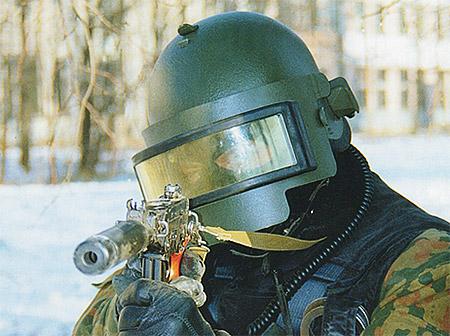 Российский защитный шлем Алтын