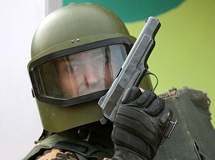 Российский защитный шлем Маска-1