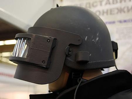 Российский защитный шлем Рысь-Т