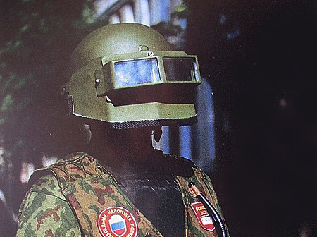 Российский защитный шлем Витязь-С