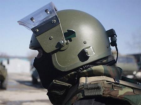 Российский защитный шлем ЗШ-1-2