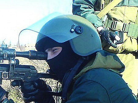 Российский защитный шлем ЗШ-1